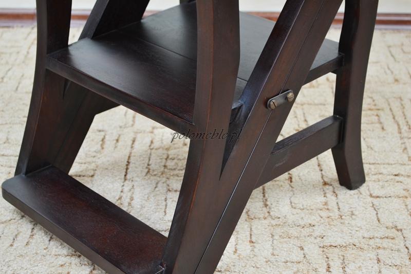 Nowe Składane Krzesło Drabinka Schodki 117007